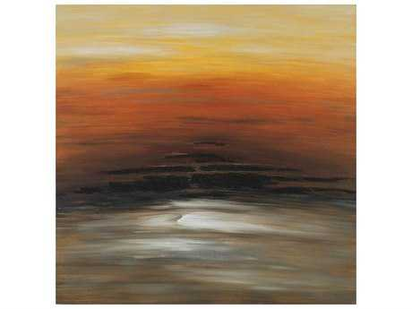 Paragon Orange Sky Hand Painted Oil Painting