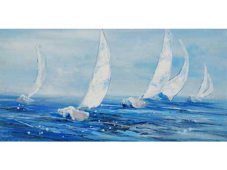 Paragon Come Sail Away Hand Painted Oil Painting