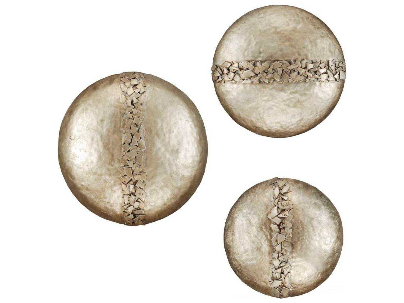 Paragon Hammered Discs Metal Exclusive Wall Art Three