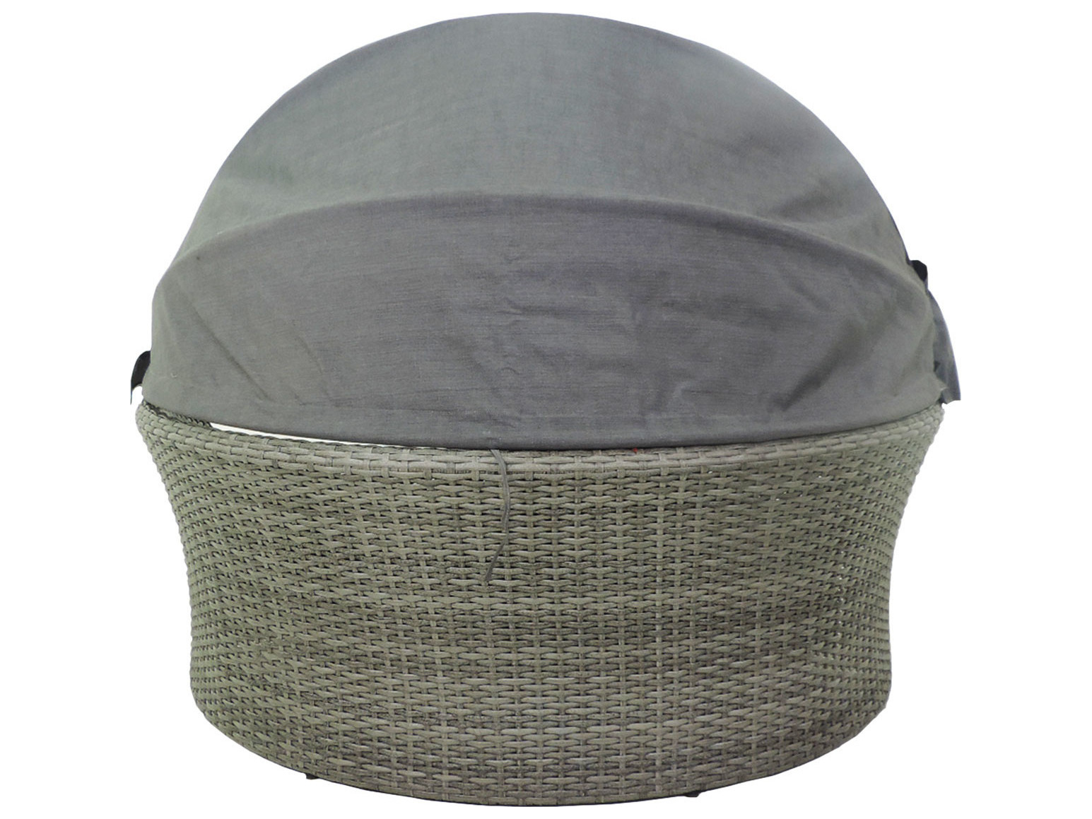 Patio heaven ethereal austin wicker modular canopy daybed for Patio heaven