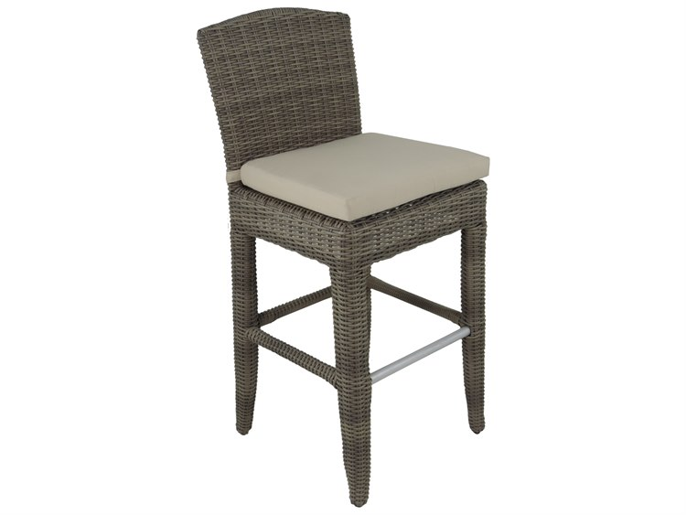 Patio Heaven Exotic Bar Chair Grey PatioLiving