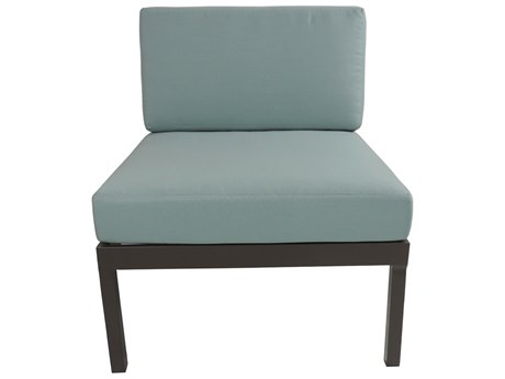 Patio Heaven Riviera Geo Armless Chair