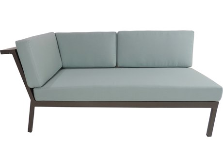 Patio Heaven Riviera Geo LAF Loveseat