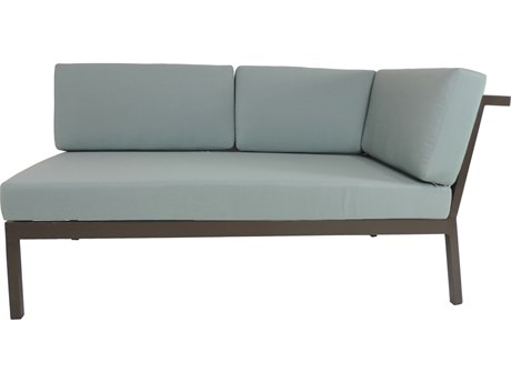 Patio Heaven Riviera Geo RAF Loveseat
