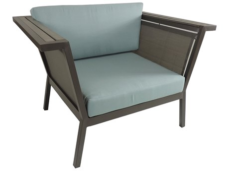 Patio Heaven Riviera Aluminum Geo Club Chair