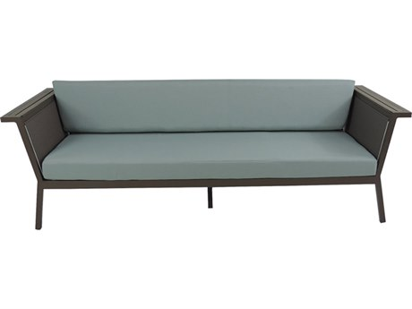 Patio Heaven Riviera Aluminum Geo Sofa