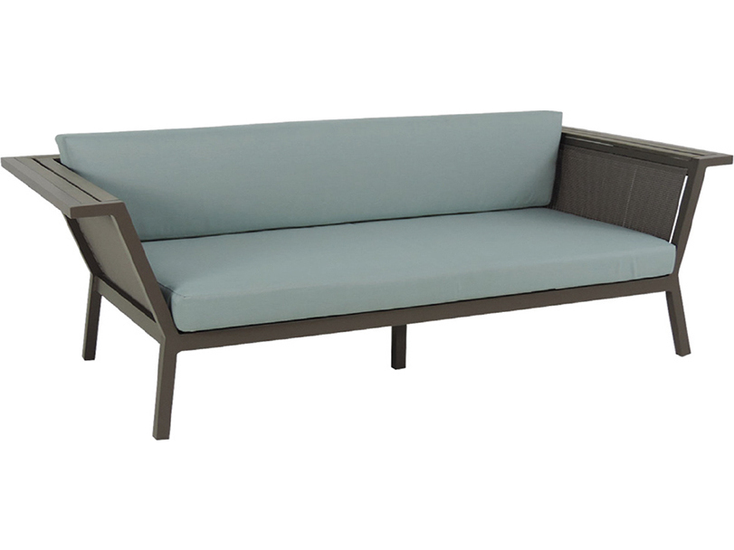 Patio heaven riviera aluminum geo sofa jrr1506 sf for Patio heaven