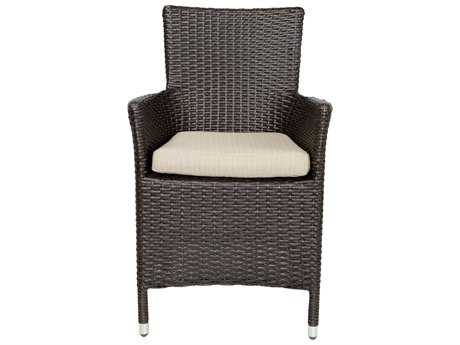 Patio Heaven Malibu Wicker Arm Chair