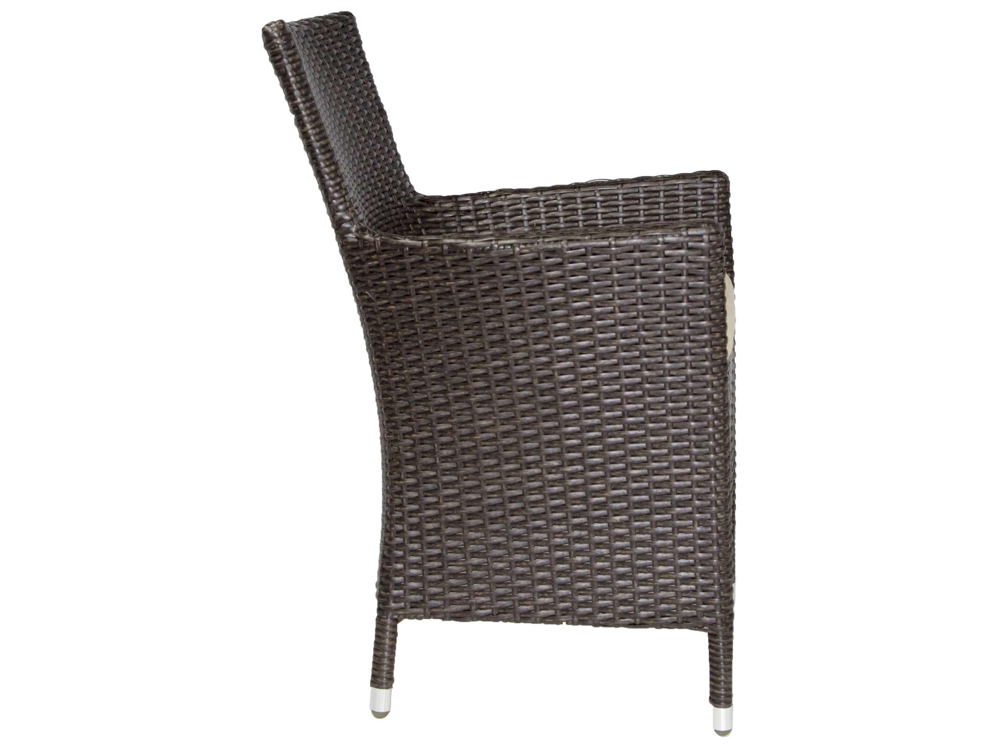 Patio heaven malibu wicker arm chair paphmac for Patio heaven