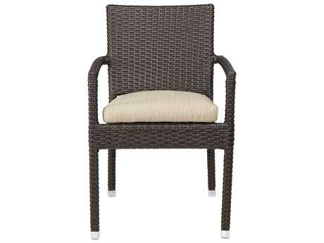 Patio Heaven Venice Zuma Wicker Arm Chair