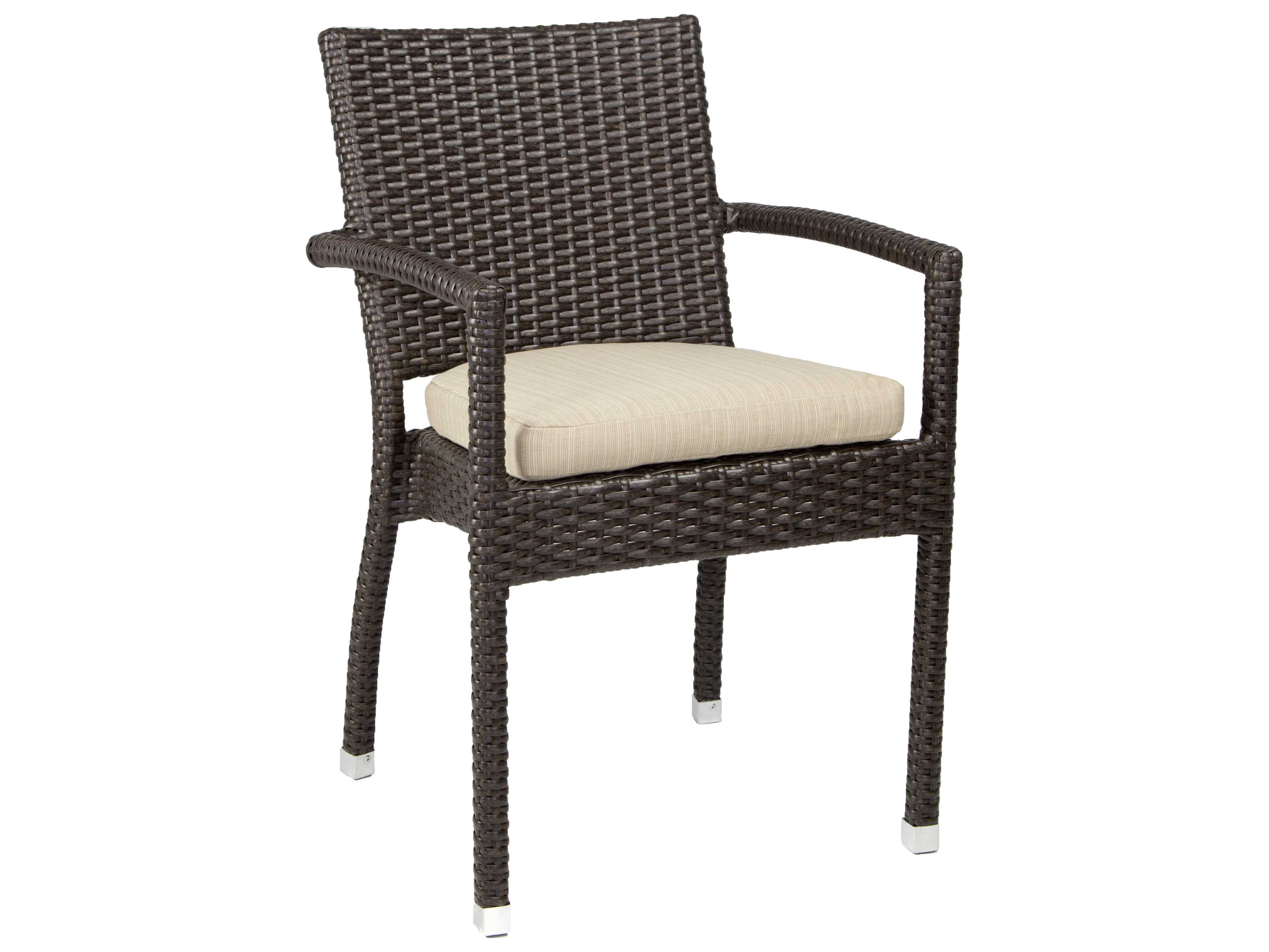 Patio heaven venice zuma wicker arm chair ph zac for Patio heaven