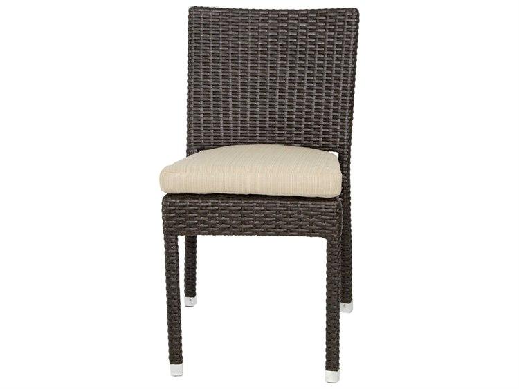 Patio heaven venice zuma wicker side chair ph zsc for Patio heaven