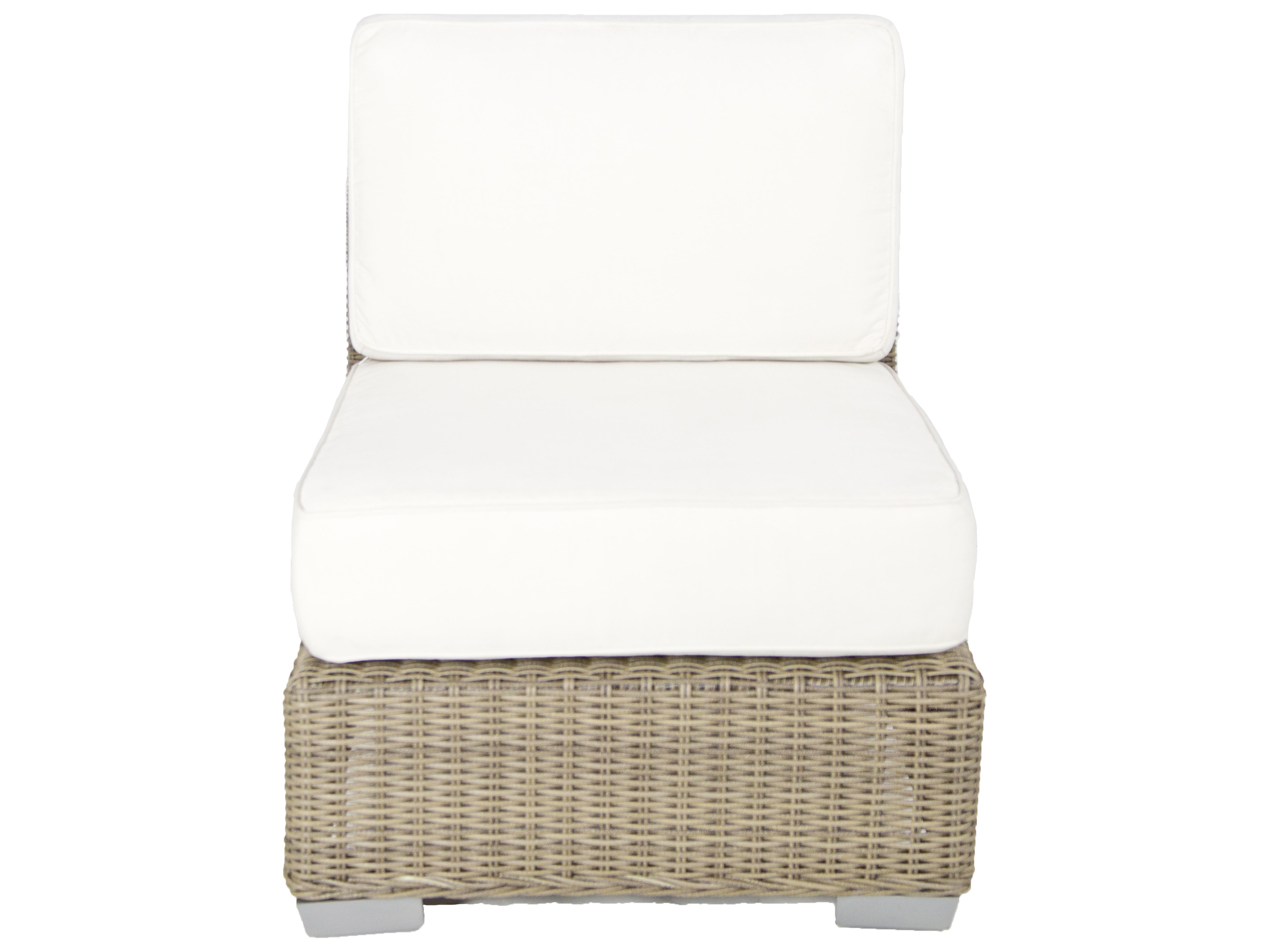 Patio Heaven Palisades Armless Lounge Chair