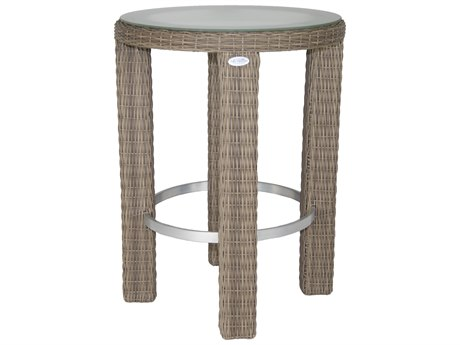 Patio Heaven Palisades Round Bar Table