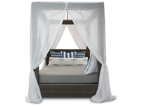 Patio Heaven Palisades Queen Canopy Bed