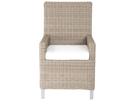 Patio Heaven Palisades Dining Arm Chair