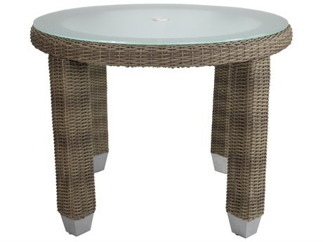 Patio Heaven Palisades Round Dining Table