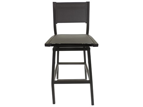 Patio Heaven Riviera Swivel Armless Bar Chair