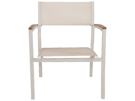 Patio Heaven Riviera Club Chair White