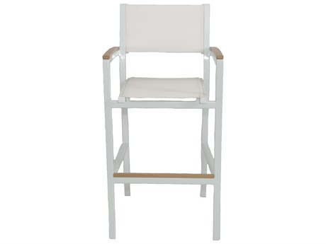 Patio Heaven Riviera Bar Chair White