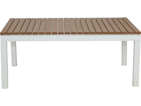 Patio Heaven Riviera Coffee Table White