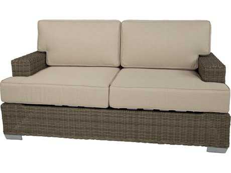 Patio Heaven Signature - Palisades Wicker Loveseat
