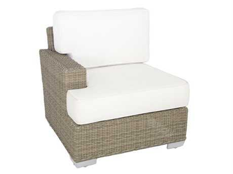 Patio Heaven Signature - Palisades Wicker Left Arm Facing Chair