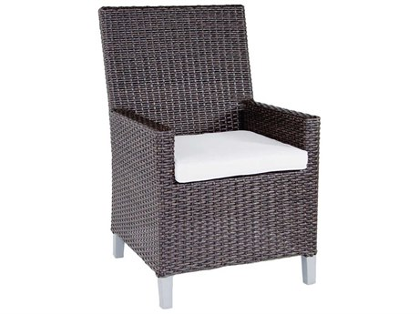 Patio Heaven Signature - Palisades Wicker Dining Arm Chair