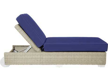 Patio Heaven Signature - Palisades Wicker Adjustable Single Chaise