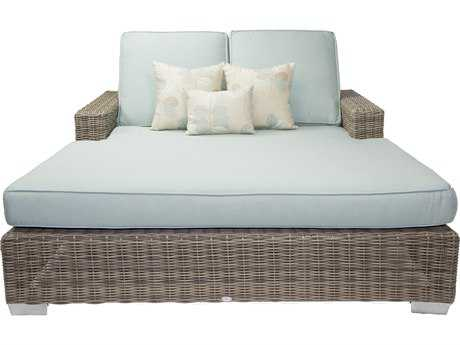 Patio Heaven Signature - Palisades Wicker Double Chaise