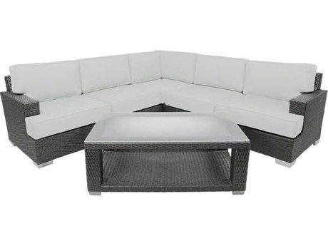 Patio Heaven Signature - Palisades Wicker Modular Sectional 6Signature - PalisadesPc Seating Set