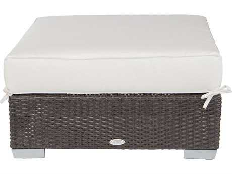 Patio Heaven Signature - Palisades Wicker Ottoman