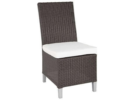 Patio Heaven Signature - Palisades Wicker Dining Side Chair