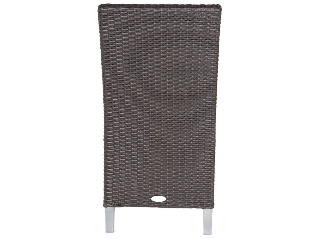 Patio heaven signature palisades wicker dining side for Patio heaven