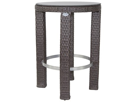 Patio Heaven Signature Round Bar Table