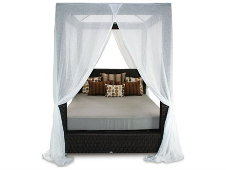 Patio Heaven Signature Queen Canopy Bed PASIGB1DBQ