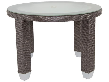 Patio Heaven Signature Round Dining Table