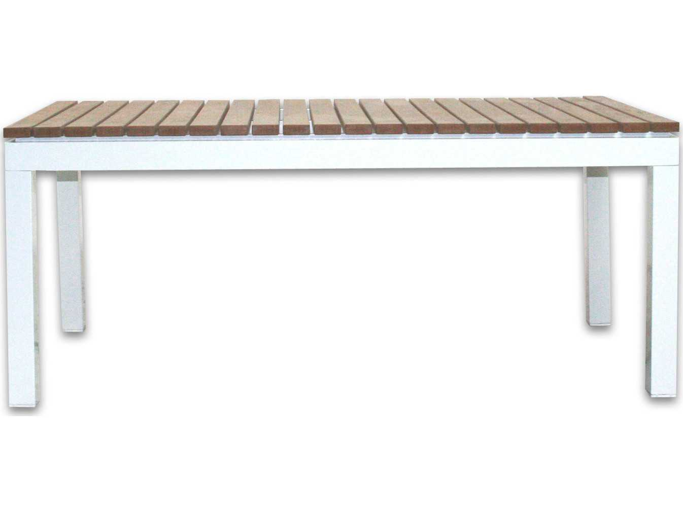 Patio heaven riviera aluminum 39 5 x 21 5 rectangular for Patio heaven