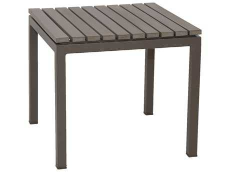Patio Heaven Riviera Aluminum 18 Square End Table