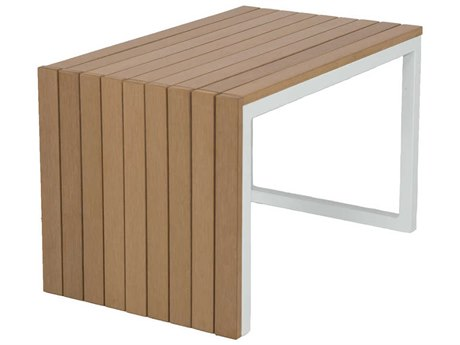 Patio Heaven Riviera Aluminum 15 Square Utility Table