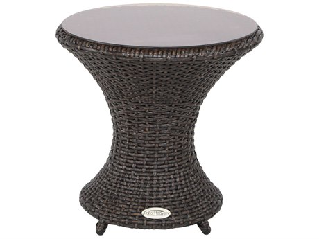 Patio Heaven Vallejo Wave End Table