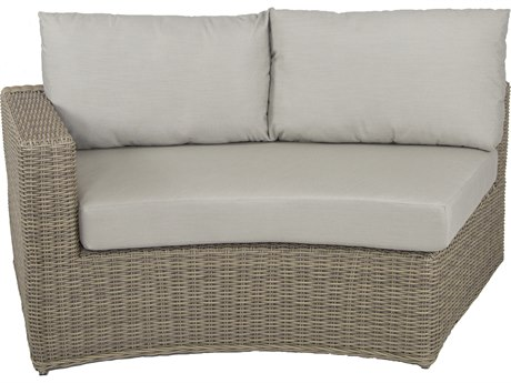 Patio Heaven Vallejo LAF Loveseat-Grey
