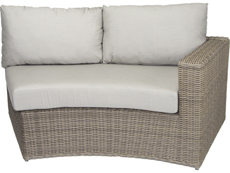 Patio Heaven Vallejo RAF Loveseat-Grey