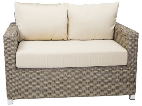 Patio Heaven Venice Loveseat Grey