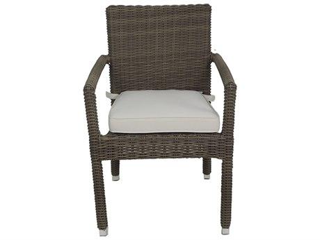 Axcess Inc. Venice Zuma Arm Chair-Grey PatioLiving