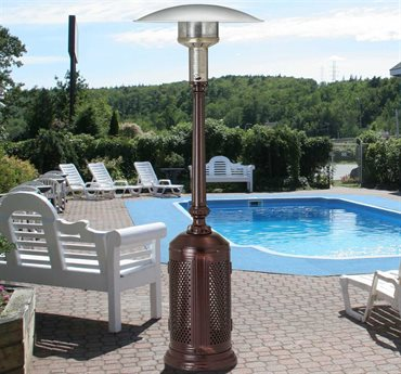 Patio Comfort Vintage Series Steel Infrared Propane Heater PatioLiving