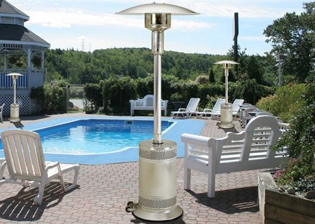 Patio Comfort Stainless Steel Infrared Propane Heater PatioLiving