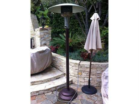 Patio Comfort Antique Bronze Steel Portable Natural Gas Heater