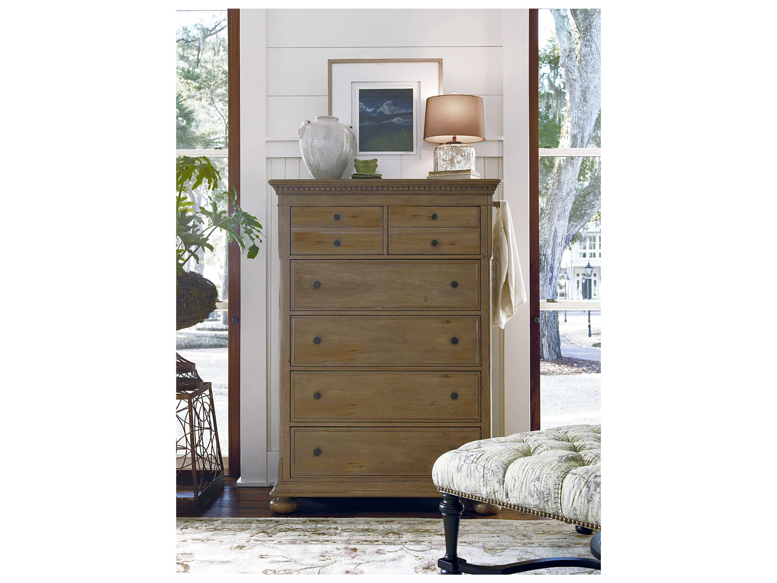 Paula Deen Home Down Home Oatmeal Chest Of Drawers Pdh192150