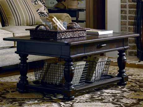 Paula Deen Home Down Home Molasses 50'' x 30'' Rectangular Coffee Table